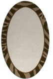 rug #1039037 | oval borders rug
