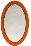 rug #1039158 | oval red-orange stripes rug