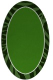 rug #1039162 | oval light-green rug