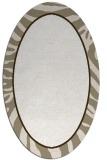 rug #1039190 | oval white animal rug