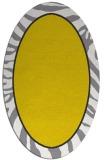 rug #1039202 | oval white borders rug