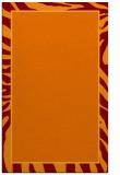 rug #1039450 |  orange animal rug