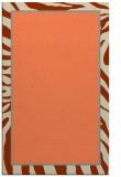 rug #1039458 |  orange animal rug