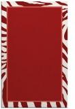 rug #1039506 |  red animal rug