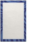 rug #1039542 |  blue borders rug