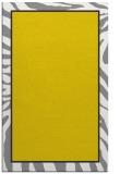 rug #1039570 |  yellow animal rug