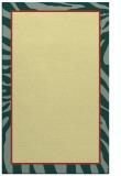 rug #1039578 |  yellow borders rug