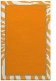 rug #1039606    light-orange animal rug