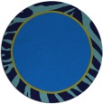 rug #1039646   round blue animal rug