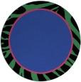 rug #1039814 | round black stripes rug