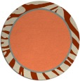 rug #1039826 | round beige borders rug