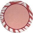 rug #1039846   round pink borders rug