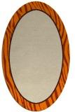 rug #1040718 | oval plain beige rug