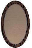 rug #1040736 | oval stripes rug