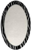 rug #1040862 | oval plain black rug