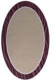 rug #1040882 | oval pink animal rug