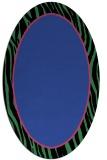 rug #1040918 | oval black borders rug