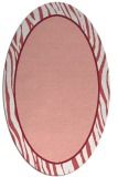 rug #1040950 | oval plain white rug