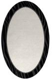 rug #1041006 | oval plain white rug