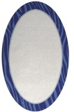 rug #1041014 | oval blue borders rug
