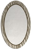 rug #1041030 | oval plain white rug