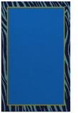 rug #1041118 |  blue animal rug
