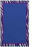 rug #1041190    blue-violet animal rug