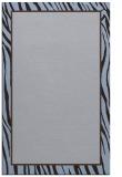 rug #1041198    plain blue-violet rug