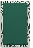 rug #1041222 |  plain blue-green rug