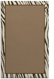 rug #1041242 |  plain mid-brown rug