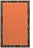 rug #1041302 |  plain red-orange rug