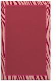 rug #1041314 |  plain pink rug