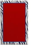 rug #1041338 |  plain red rug