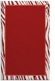 rug #1041346 |  plain red rug