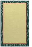 rug #1041418 |  plain blue-green rug