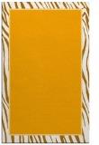 rug #1041438 |  plain light-orange rug