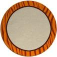 rug #1041454   round plain beige rug