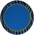 rug #1041486 | round plain blue rug