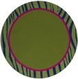 rug #1041500 | round stripes rug