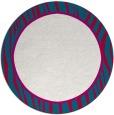 rug #1041577 | round plain rug