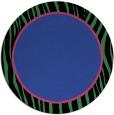 rug #1041654 | round plain black rug