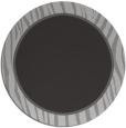 rug #1041670 | round plain orange rug