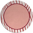 rug #1041686 | round plain pink rug