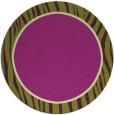 rug #1041696 | round plain rug