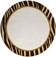 rug #1041754 | round brown stripes rug