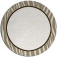 rug #1041766 | round plain beige rug