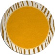 rug #1041806 | round light-orange animal rug