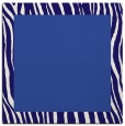 rug #1042294 | square plain blue-violet rug