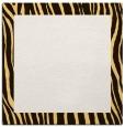 rug #1042490 | square plain brown rug