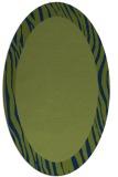 rug #1042605 | oval animal rug